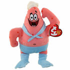 TY Beanie Baby - PATRICK STAR ( BARNACLEBOY ) (8 inch) - MWMTs Stuffed Animal