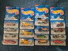 Hot Wheels 96 First edition set of 15 cars VW Drag bus  variations please read
