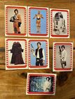 Vintage Star Wars Topps Series 3 Sticker Lot Of 7 Different