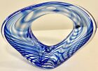 Incredible Neil Duman Studio Art Glass Infinity Paperweight Sculpture Signed 07