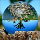 50 150mm Clear Crystal Photography Lens Ball Photo Background Prop Home Decor