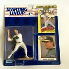 1993 STARTING LINEUP ACTION FIGURE with 2 CARDS MARK McGWIRE OAKLAND NEW IN BOX