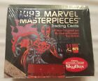 1993 MARVEL MASTERPIECES Trading Cards 36 PACKS FACTORY SEALED BOX Numbered