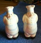 Italian French Pizza Chef Salt  Pepper Shakers