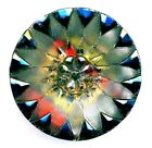 Large Lacy Glass Button Stunning