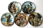 Collectors Plate Lot Native American Prayer Spirit Pride Sioux Blackfoot Friend