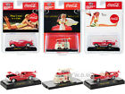 COCA COLA BATHING BEAUTIES SET OF 3 CARS 1 64 DIECAST M2 MACHINES 52500 BB02