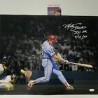 Autographed Signed MIKE SCHMIDT 500th HR Inscribed Phillies 16x20 Photo JSA COA