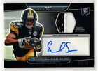 # 99 EMMANUEL SANDERS RPA ▪ 2010 Topps Platinum Black Refractor Patch Auto RC