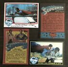 1978 and1983 Topps Superman Singles moviesSelect from Menu list