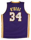Lakers Shaquille ONeal Authentic Signed Purple Pro Style Jersey Autographed BAS