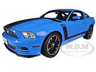 2013 FORD MUSTANG BOSS 302 BLUE 1 18 DIECAST MODEL CAR SHELBY COLLECTIBLES SC450