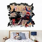 Spider Man Into The Spider Verse 3D Smashed Decal WALL STICKER Decor Man J1506
