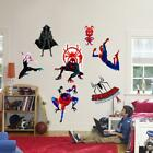 Spider Man Into The Spider Verse Set Wall Sticker Decal Home Decor Boys WC373
