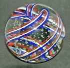 Magnum Pairpoint Similar Style RedWhite  Blue Swirl W Controlled Bubbles