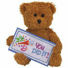 TY Beanie Baby - YOU DID IT the Bear (Greetings Collection) (5.5 inch) - MWMTs