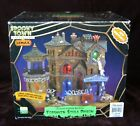 LEMAX Spooky Town Forsaken Souls Prison Lighted Halloween Village WORKS