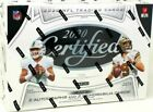 2020 Panini Certified Football NFL Hobby Box Factory Sealed