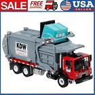 Diecast Barreled Garbage Carrier Truck 124 Waste Material Vehicle Mod Toy M8C1