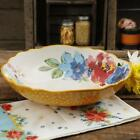 The Pioneer Woman Melody 1275 Inch Large Pasta Serving Bowl NEW