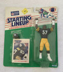 NFL Starting Lineup Mike Merriweather Figure KENNER 1988-Pittsburgh Steelers NOS