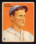 1933 GOUDEY #229 ARKY VAUGHAN PIRATES ROOKIE