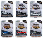 DUALLY DRIVERS SERIES 5 SET OF 6 TRUCKS 1 64 DIECAST CARS BY GREENLIGHT 46050