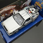 Welly 1 24 diecast Delorean Time Machine car model Movie back to the Future II