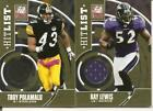Ray Lewis Rookie Cards and Autograph Memorabilia Guide 13