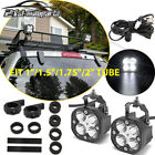 Roof Rail Led Light Pods Roll Bar Tube Clamps Wire For Chevrolet Silverado Tahoe