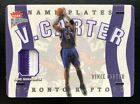 Vince Carter Cards and Autographed Memorabilia Guide 15