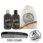 Suavecito Beard Wash and Conditioner 4 Piece Kit