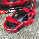 Bburago 1 24 Diecast Ferrari SF90 Stradale Open close Car model Red Black Roof