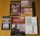 Collection of history books about karate and Okinawa the birth place of karate