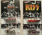 Hot Wheels Pop Culture KISS 4 Cars 2011 2013