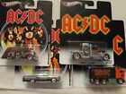 Hot Wheels Pop Culture AC DC 4 Cars 2011 2013 Convoy Hauler Delivery Ford