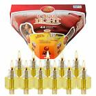 Ner Mitzvah 3 Hour Pre Filled Menorah Oil Cup Candles For Hannukkah 44 Pack