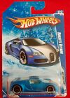 Hot Wheels BUGATTI VEYRON Snowflake Card Satin Blue HOT AUCTION Target Exclusive