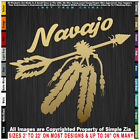 Native American Arrow Navajo with Feathers Native Pride sticker decal