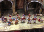 12 PASTORI LANDI SHEPHERDS CRIB NATIVITY 236 INCH 6 cm MADE IN ITALY