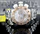 NEW Invicta Men 52mm Sub Aqua SEA DRAGON Chronograph SS SILVER DIAL Watch