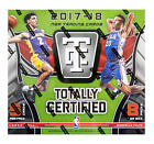 2017 18 Panini Totally Certified Basketball Hobby Box FACTORY SEALED