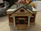 1995 Lemax City Hall Lighted Village House Building