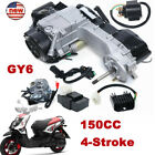 4 Stroke 150CC Scooter ATV Go Kart Motor Engine Air Cooled For Honda Short Case