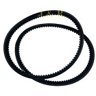 Drive Belt Double pack 842 20 30 Scooter Moped Go Cart GY6 125cc 150cc