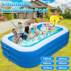 Inflatable Swimming Pool Large Family Summer Outdoor Ball Play Pool Kids Adults