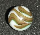 Christensen Agate Company 3 color flames and swirls Measures 5 8