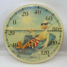 Vintage Springfield Duck Pool Guard Thermometer 12 Made in USA