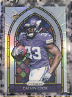 2017 Prizm Dalvin Cook Silver Holo Refractor RC Rookie Stained Glass SP Insert