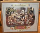 2001 Grandeur Noel Bethlehem Nativity Christmas Village